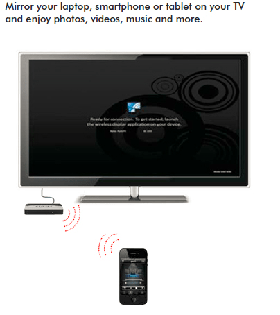 Dongles et autres mini-boîtiers rendent les téléviseurs compatibles avec Miracast