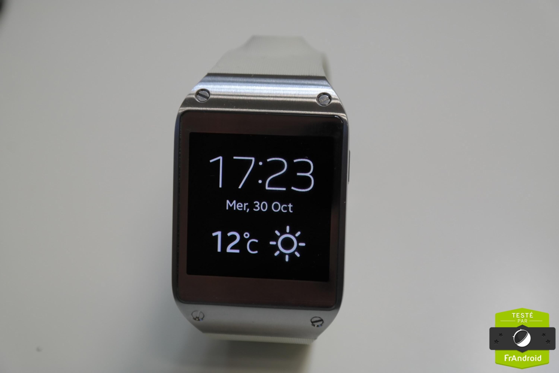 Montre Samsung Gear Ne Charge Pas