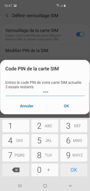 changer code pin samsung 5
