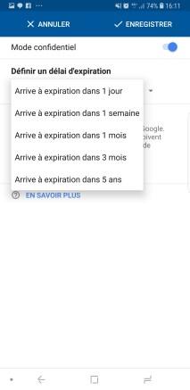 Gmail autodestruction 2