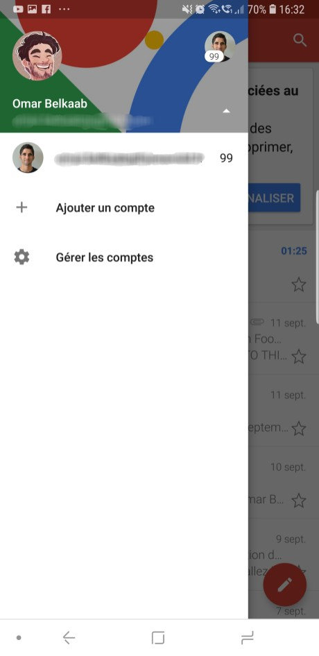 Gmail compte 2