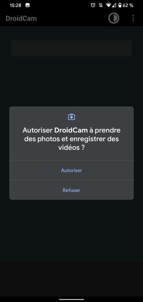 Webcam android 4