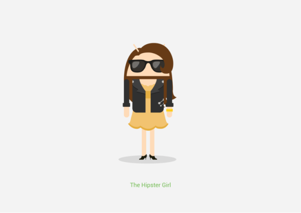 Google_AndroidIllustrations_HipsterGirl