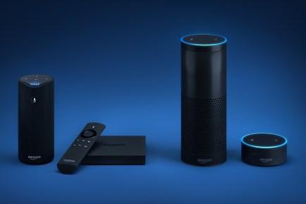 Amazon Echo et l'assistant Alexa, pas avant 2018 en France et en français
