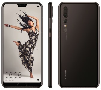 Huawei P20 Pro press render