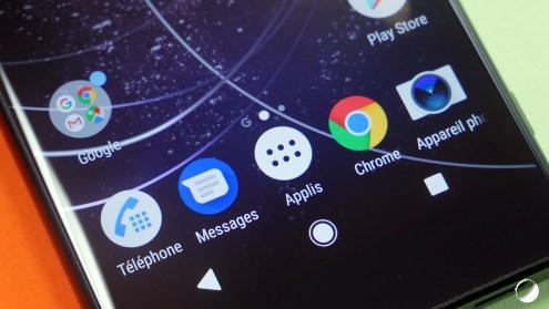 Sony Xperia XA2 close