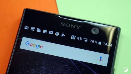 Sony Xperia XA2 haut