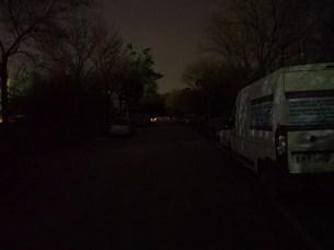 allée sombre