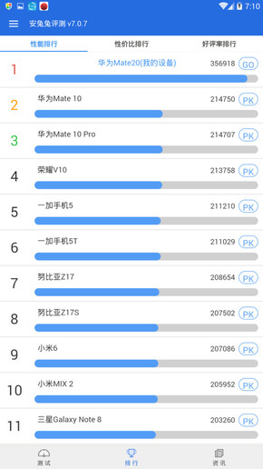 Huawei Mate 20 leak AnTuTu Kirin 980 (2)