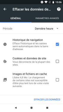 Google Chrome Android supprimer suggestions (6)