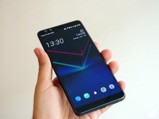 HTC U12 Plus biais