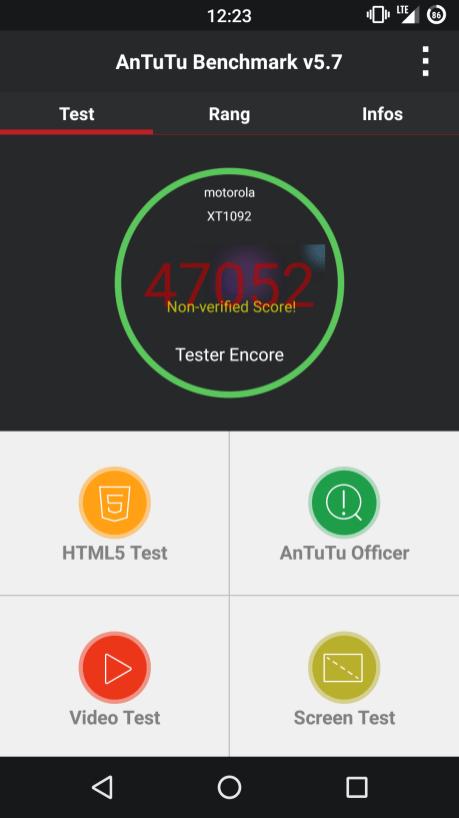 Score Antutu v5.7