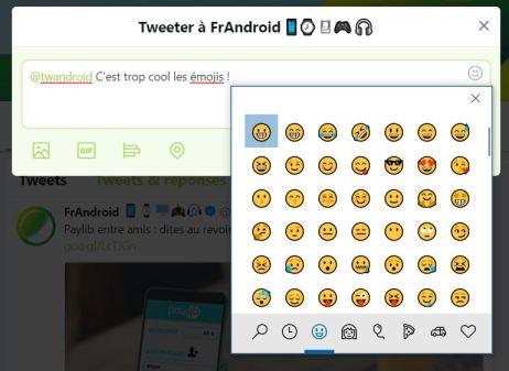 Windows 10 clavier emoji