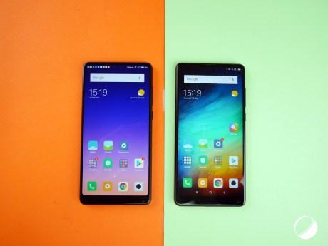 Xiaomi Mi Mix 2S vs Mix 2