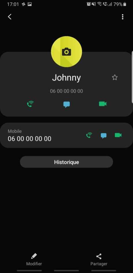 Bloquer Contact Samsung One UI (1)