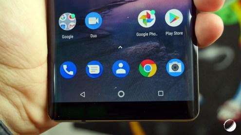 Nokia 8 Sirocco bas