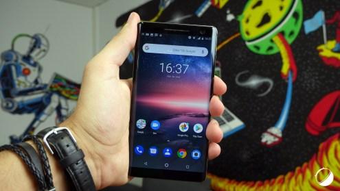 Nokia 8 Sirocco face