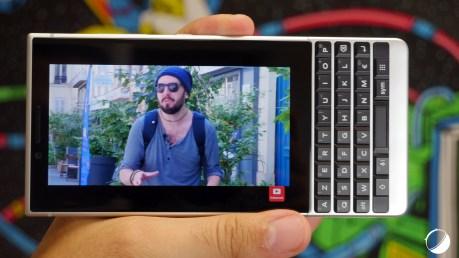 BlackBerry KEY2 vidéo