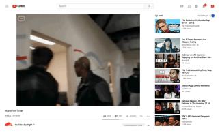 YouTube nouveau lecteur vidéo video SD après