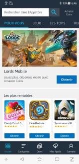 Amazon AppStore screenshots (2)