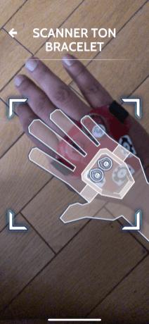 capture appli Hero Vision pour Casque Hasbro Iron Man AR bracelet et gemme de l infinie