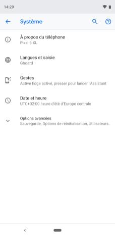 Google Pixel 3 clavier virtuel tuto captures (1)