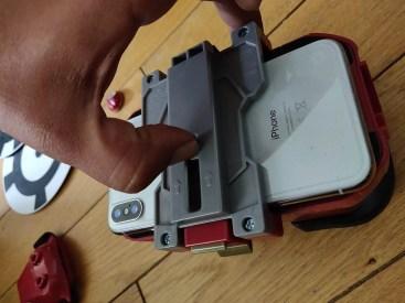 Hasbro iron Man AR insertion smartphone