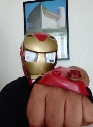 Hasbro iron Man AR Porté Homme attaque