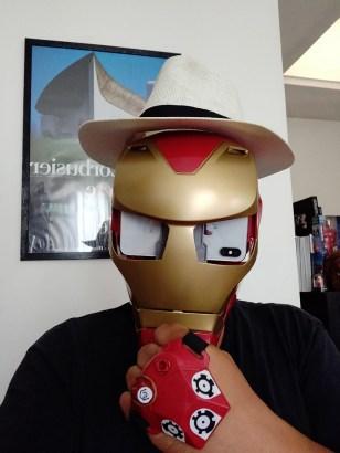 Hasbro iron Man AR Porté Homme chapeau 2