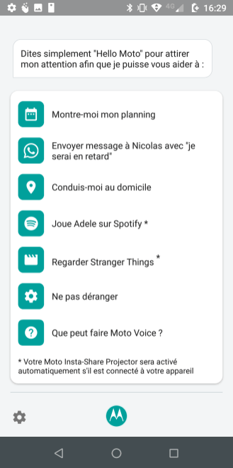 Motorola Moto Z3 Play Interface Aide (4)