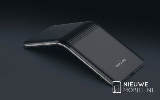 Samsung Galaxy F X pliable foldable phone designer concept (6)
