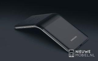 Samsung Galaxy F X pliable foldable phone designer concept (6)