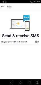Skype SMS synchro Android Windows 10 PC smartphone (3)