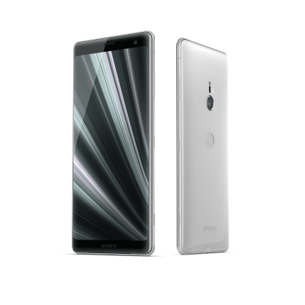 Xperia XZ3_Group_White_Silver_Front40_Back40