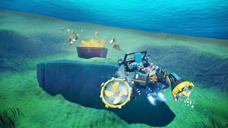 Le joujou du week end Nintendo Labo Joy-con 03 aventure et sous marin 2