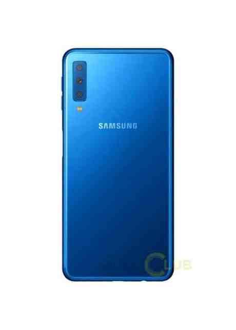 Samsung Galaxy A7 2018 rendu bleu