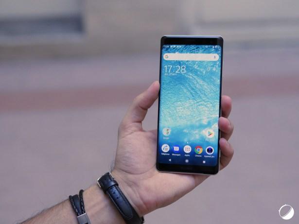 Sony Xperia XZ3 face 1