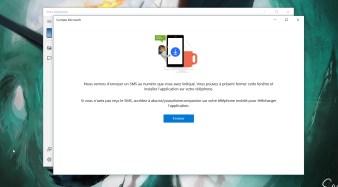 Windows 10 Votre téléphone SMS Android (1)
