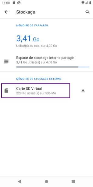 Android carte SD app tuto (2)