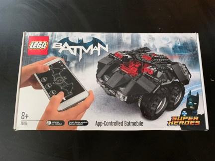 Test Lego DC COMICS Super Heroes Batmobile radiocommandée boite