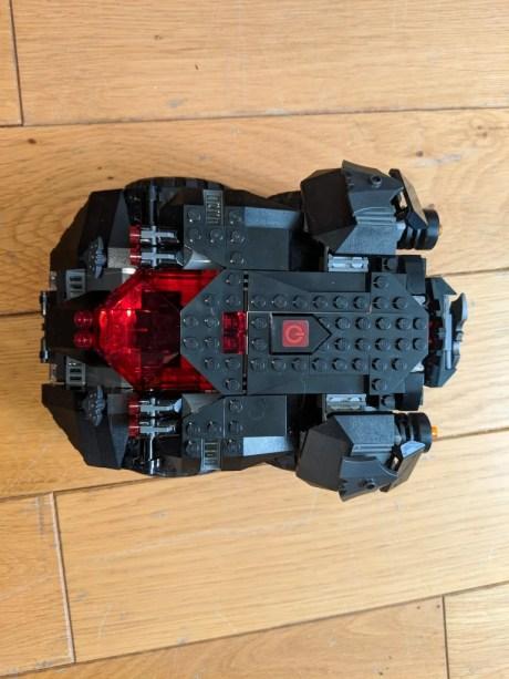 Test Lego DC COMICS Super Heroes Batmobile radiocommandée montée de dessus