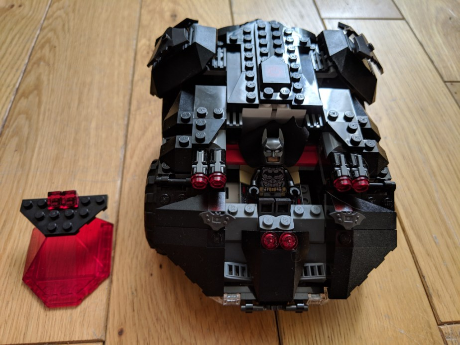 Test Lego DC COMICS Super Heroes Batmobile radiocommandée montée sans cockpit