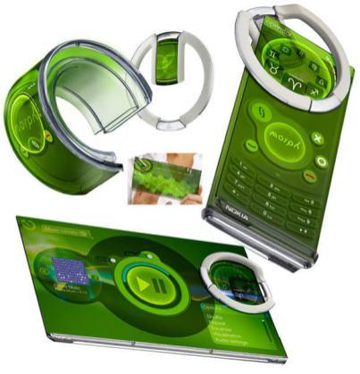 Nokia-Morph-phone-concept-futuriste-et-ecologique