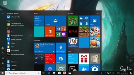 Asus Zenbook 13 Windows 10 UI (2)