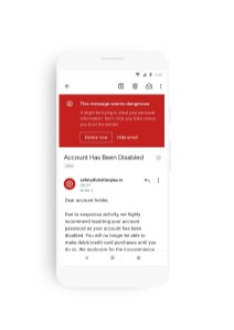 Gmail nouvelle interface Material Design 2