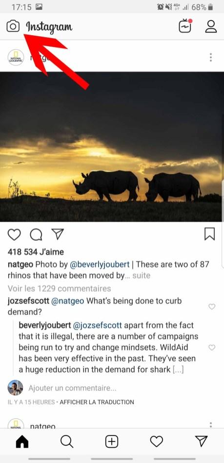 Comment créer une story sur Instagram