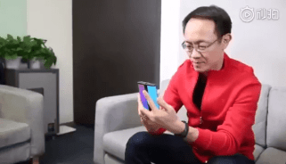 Xiaomi smartphone pliable 3