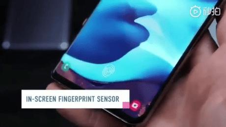 Samsung Galaxy S10 fuite prise en main leak twitter (8)