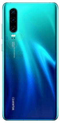 Huawei P30 aurore