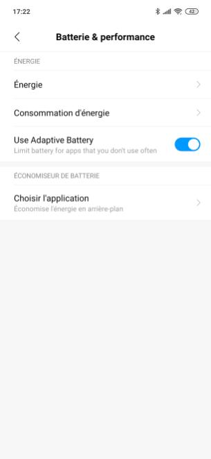 Redmi Note 7 MIUI 10 Batterie (1)